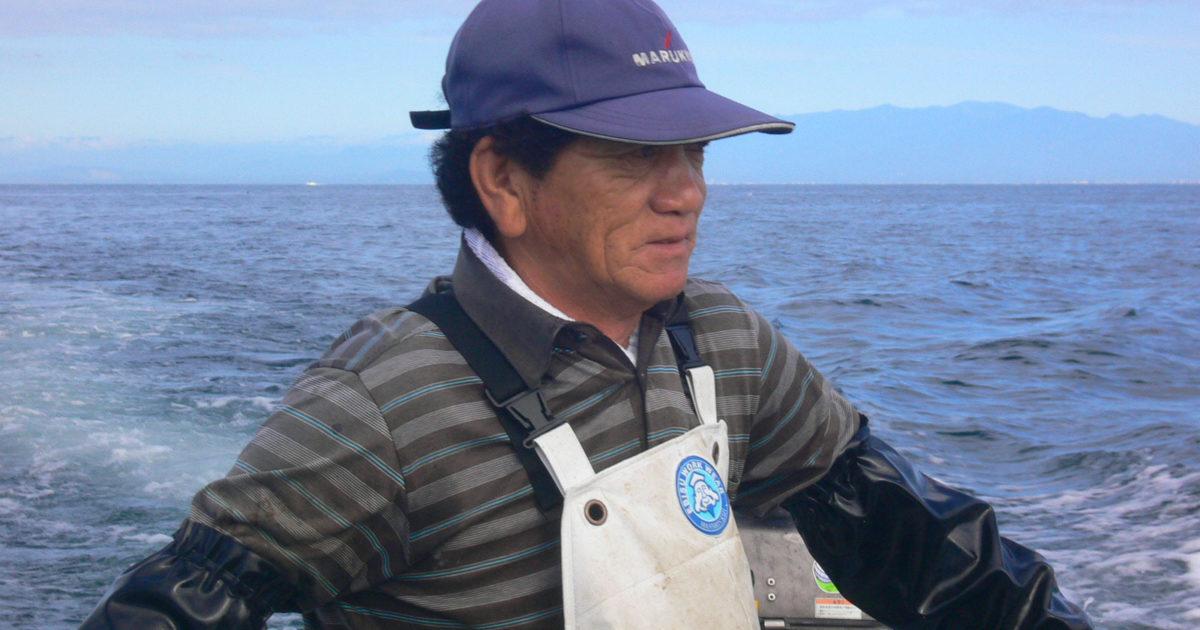 長井かかり釣りセンター 先代の小和田日出夫